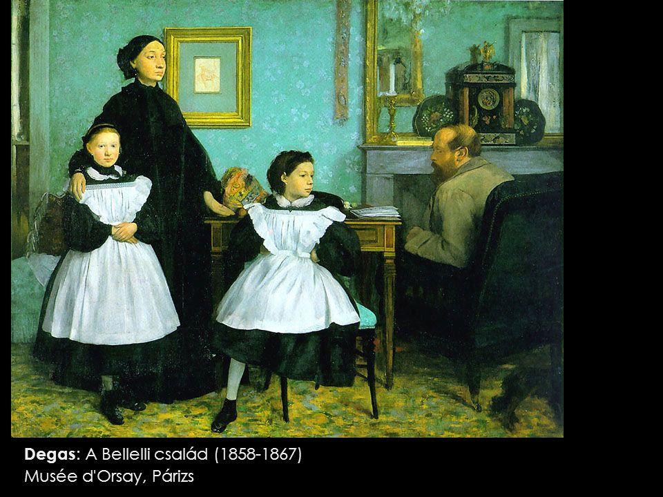 Degas: A Bellelli család (1858-1867)