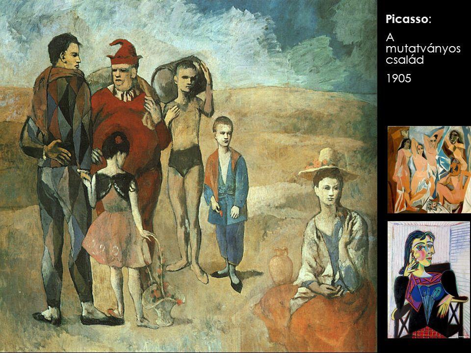 Picasso: A mutatványos család 1905
