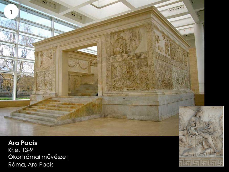 1 Ara Pacis Kr.e. 13-9 Ókori római művészet Róma, Ara Pacis