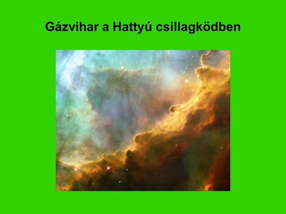 Gázvihar a Hattyú csillagködben