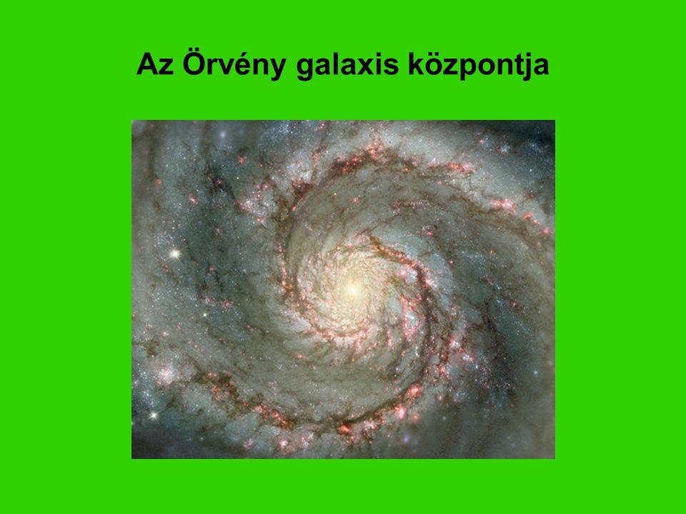 Az Örvény galaxis központja