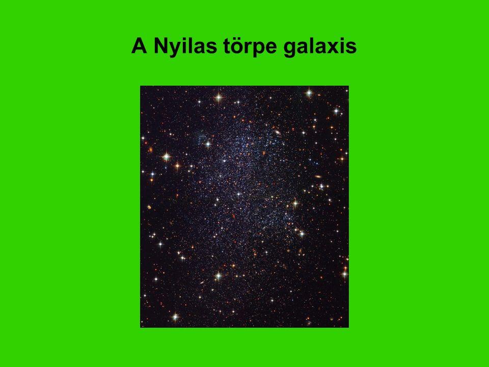 A Nyilas törpe galaxis Sagittarius Dwarf Galaxy