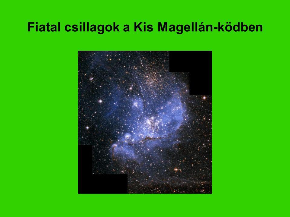 Fiatal csillagok a Kis Magellán-ködben