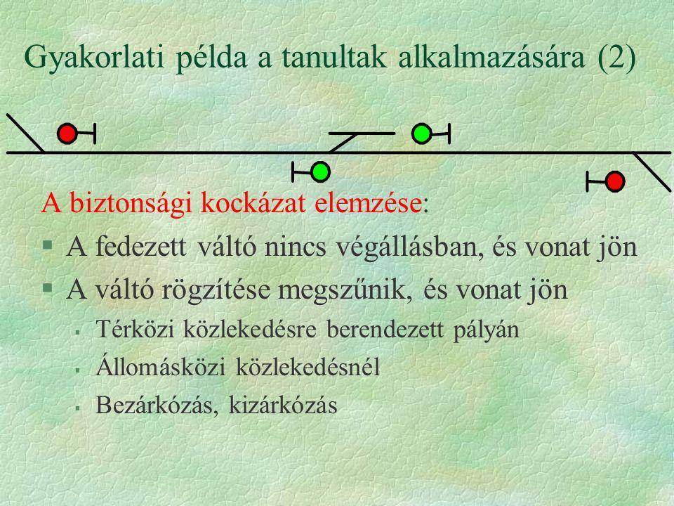 Gyakorlati példa a tanultak alkalmazására (2)