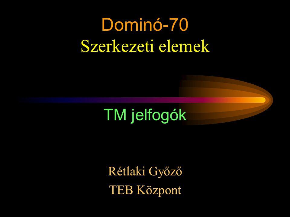 Dominó-70 Szerkezeti elemek