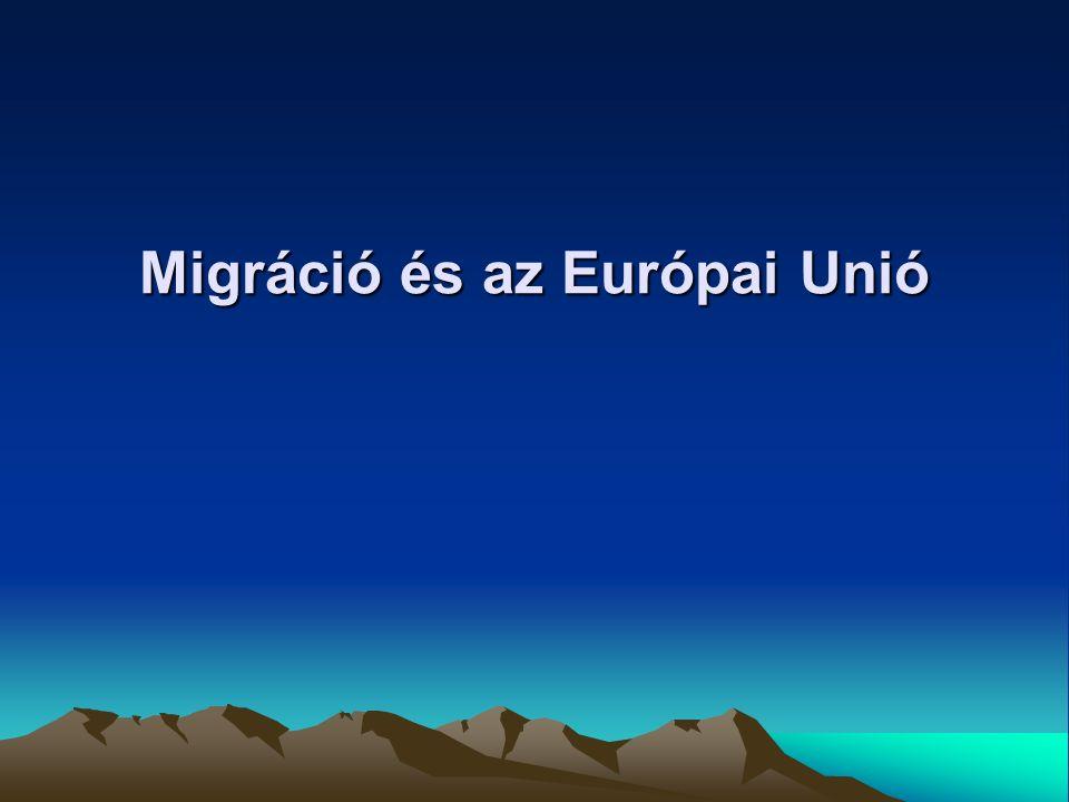 Migráció és az Európai Unió