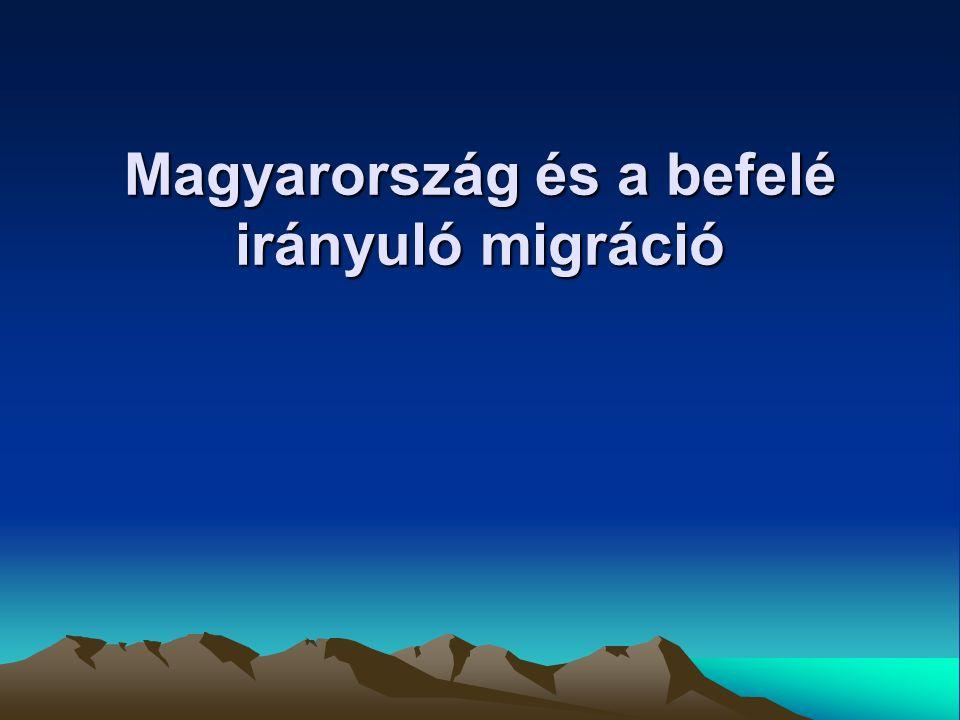 Magyarország és a befelé irányuló migráció