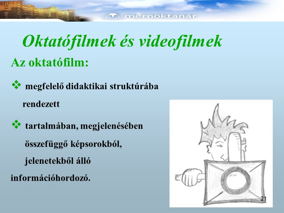 Oktatófilmek és videofilmek