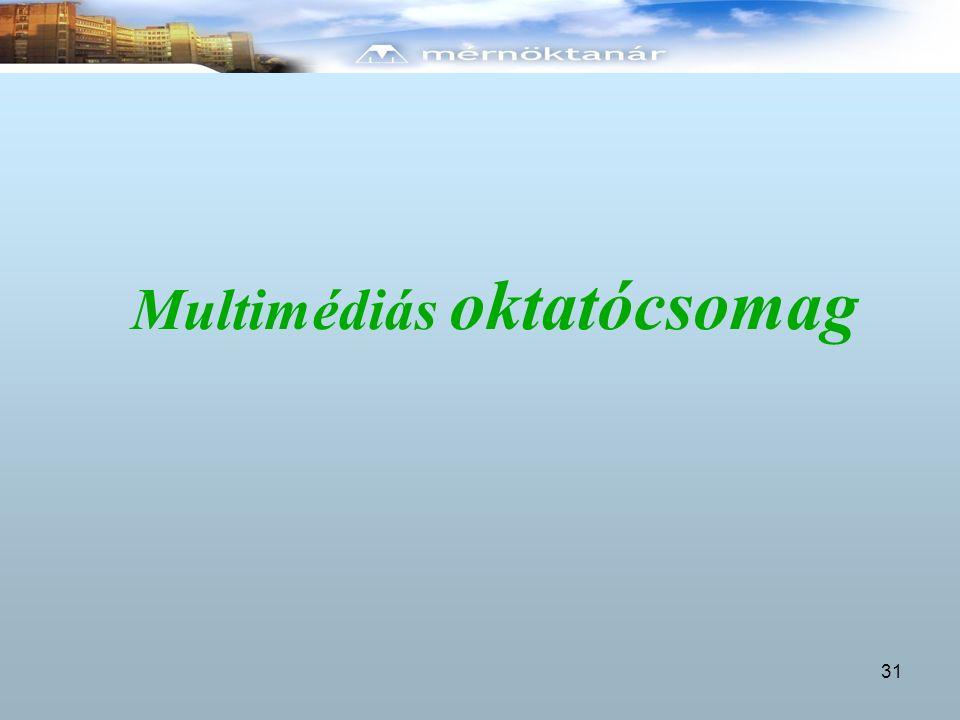 Multimédiás oktatócsomag