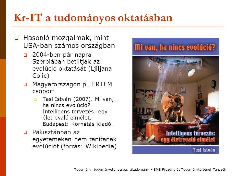 Kr-IT a tudományos oktatásban