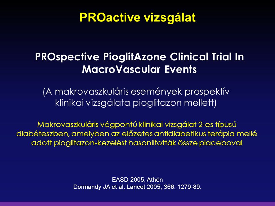 PROspective PioglitAzone Clinical Trial In
