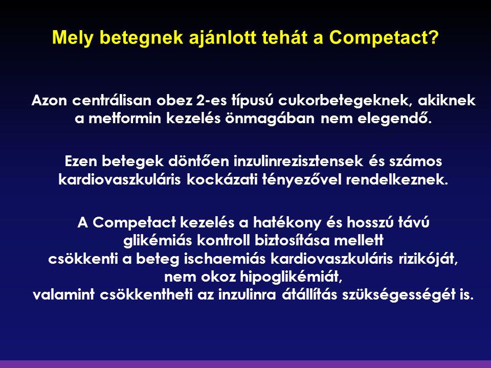 Mely betegnek ajánlott tehát a Competact