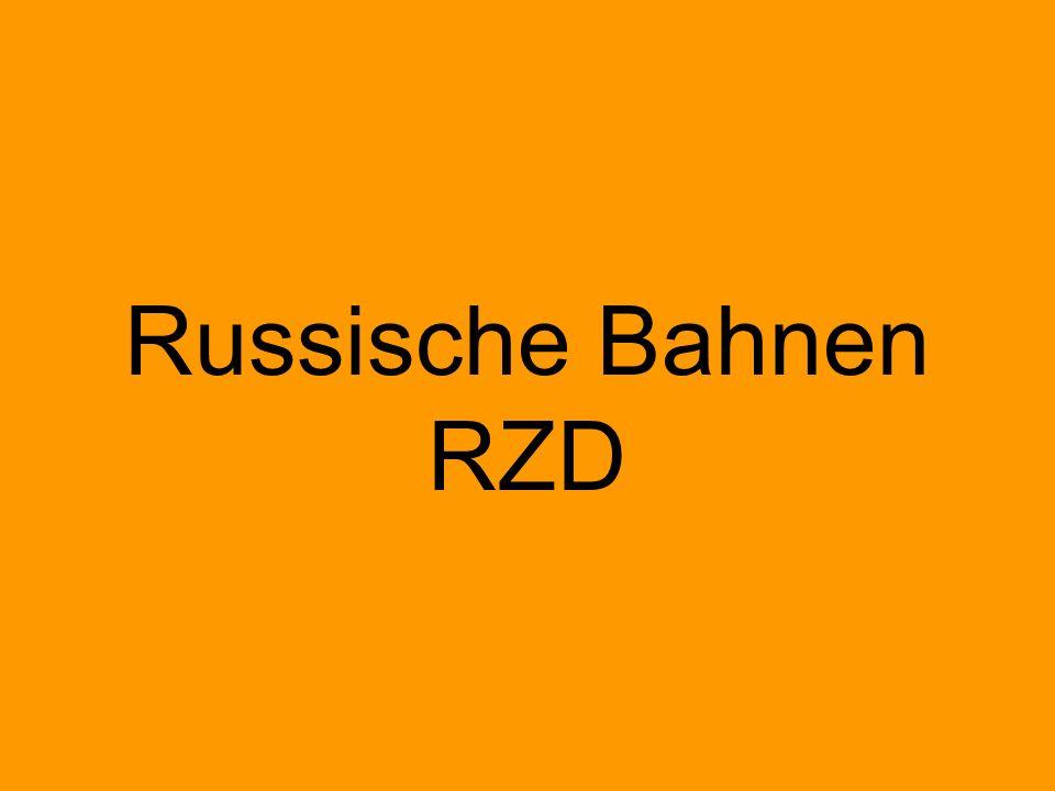Russische Bahnen RZD