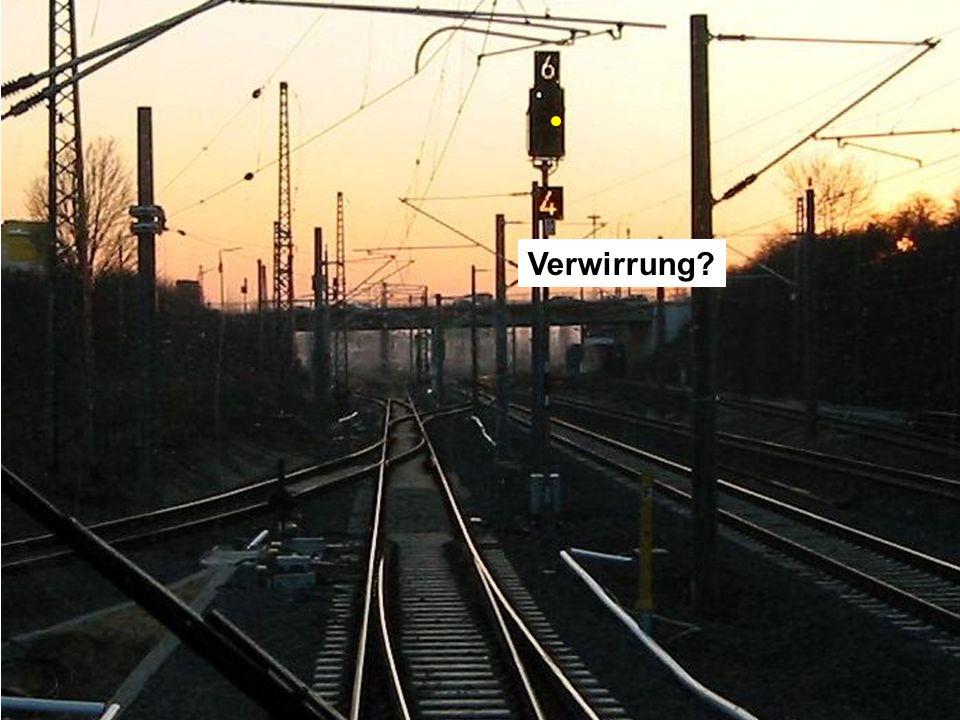Verwirrung Dies ist das Zwischensignal ZT5 des Bahnhofs Düren.