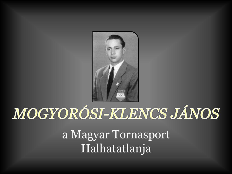 MOGYORÓSI-KLENCS JÁNOS