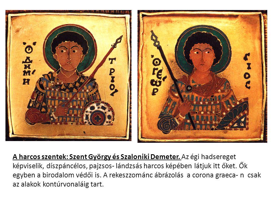 A harcos szentek: Szent György és Szaloniki Demeter