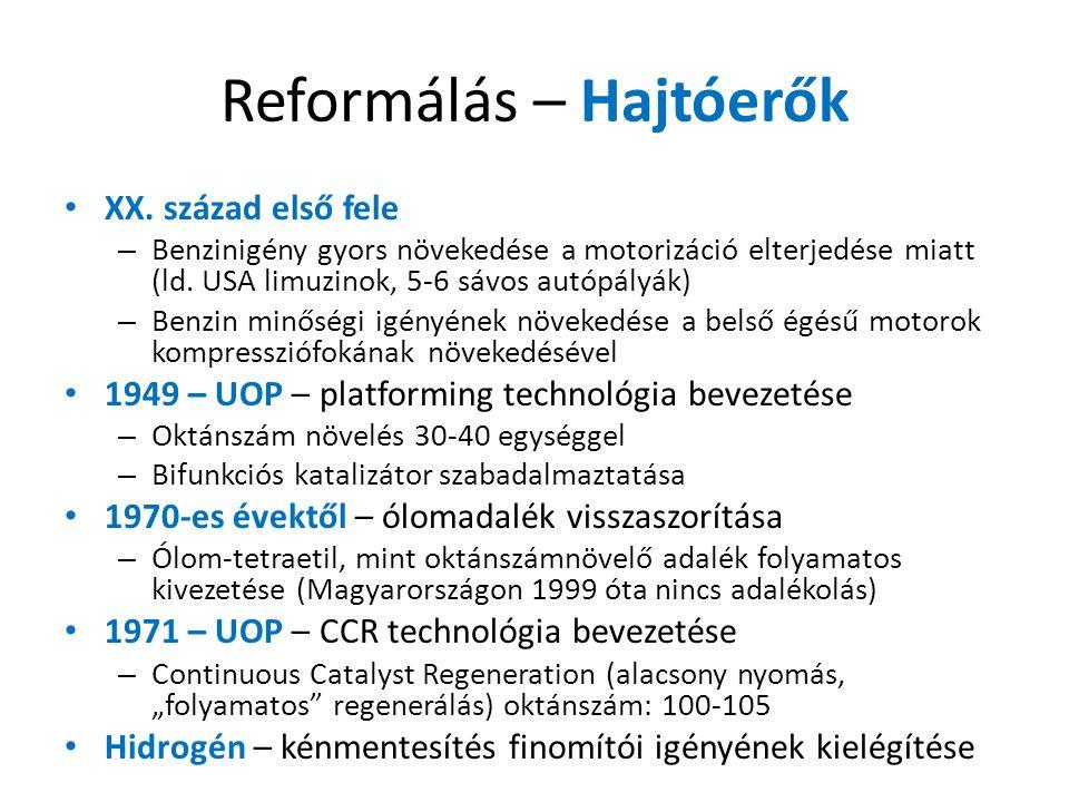 Reformálás – Hajtóerők