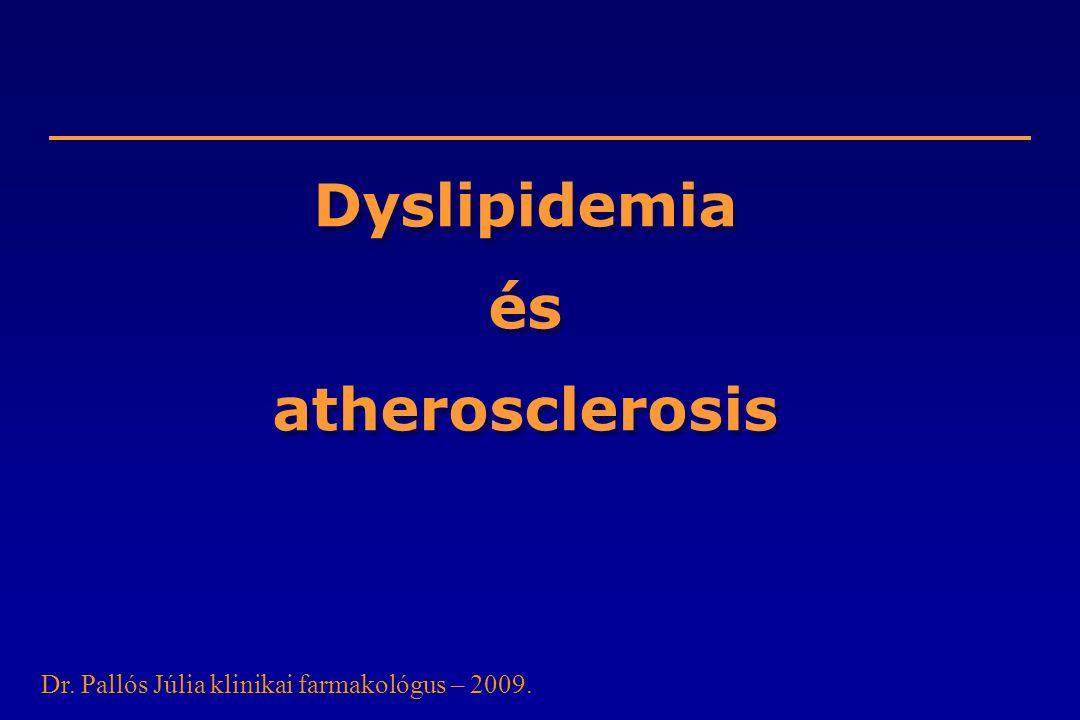 Dyslipidemia és atherosclerosis