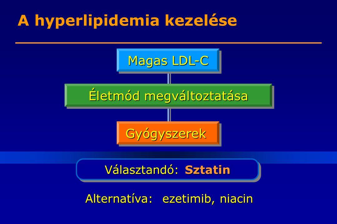 A hyperlipidemia kezelése