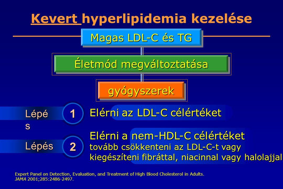 Kevert hyperlipidemia kezelése
