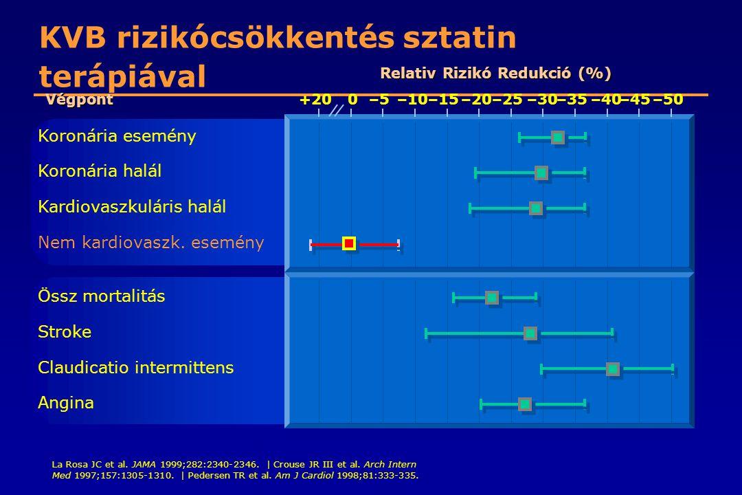 KVB rizikócsökkentés sztatin terápiával