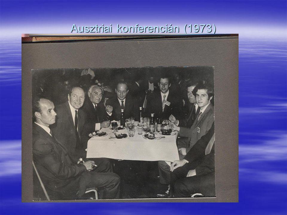 Ausztriai konferencián (1973)