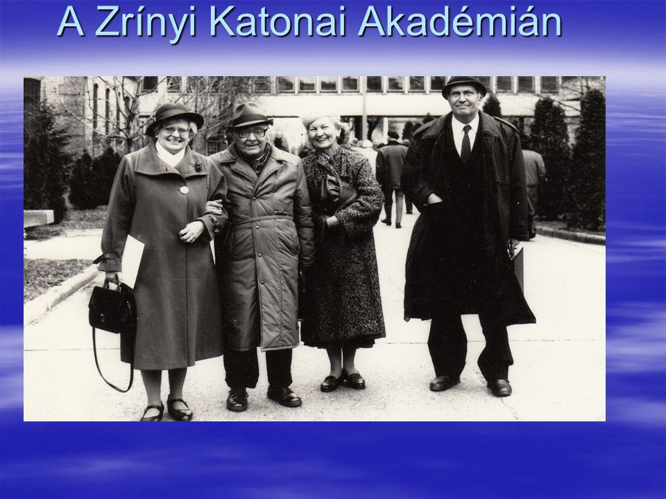 A Zrínyi Katonai Akadémián