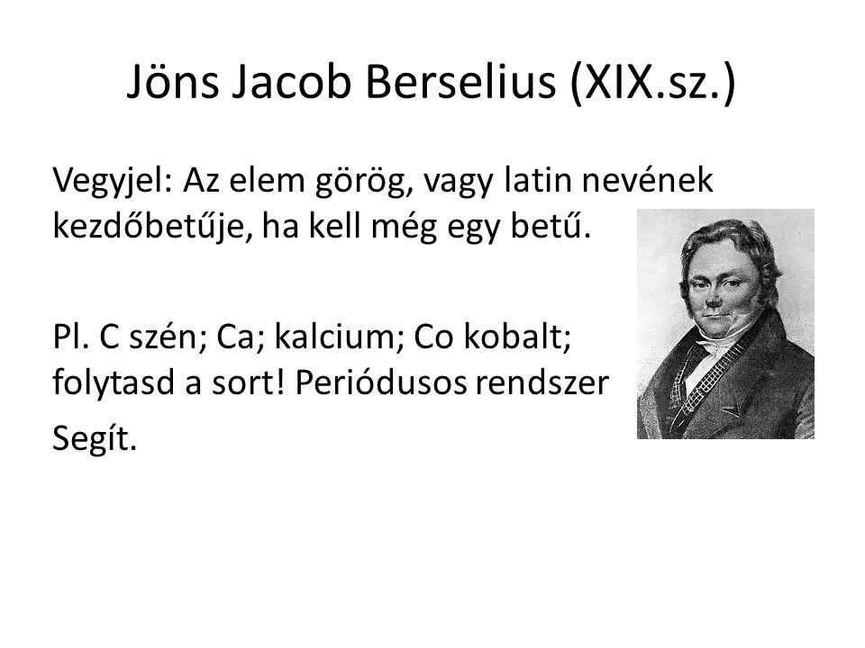 Jöns Jacob Berselius (XIX.sz.)