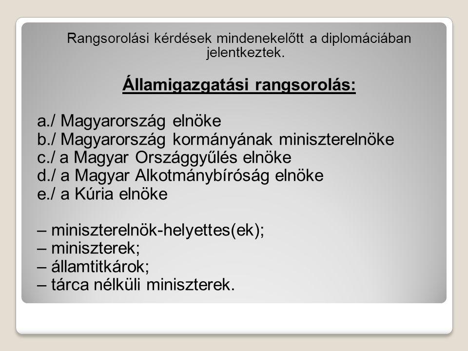 Államigazgatási rangsorolás: