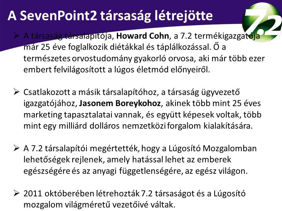 A SevenPoint2 társaság létrejötte