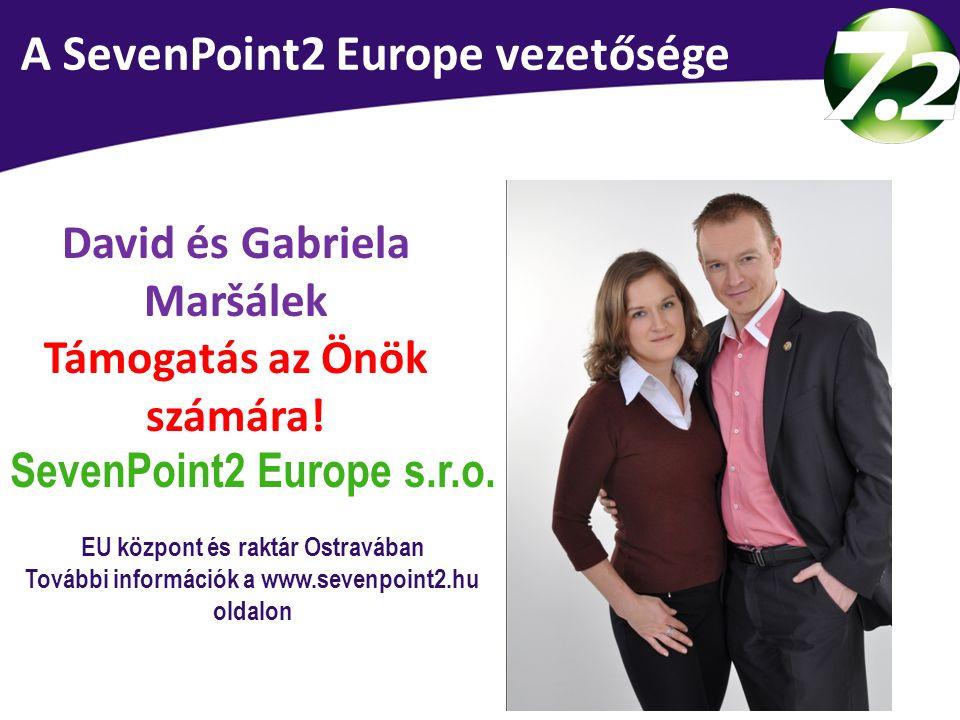 Vedení SevenPoint2 Europe A SevenPoint2 Europe vezetősége