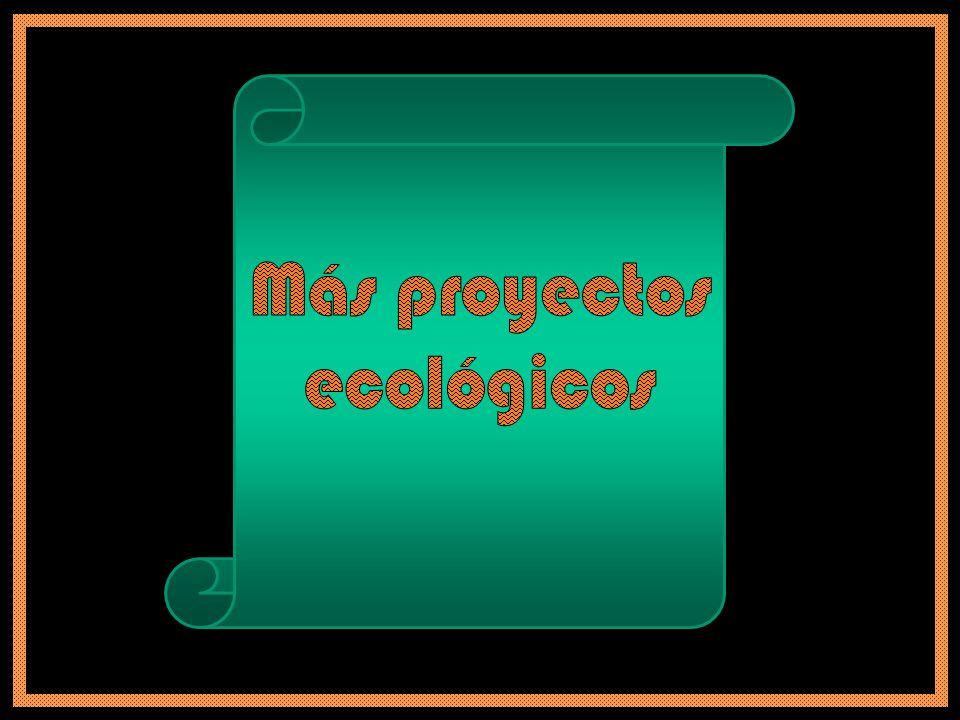 Más proyectos ecológicos