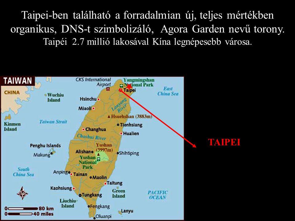 Taipéi 2.7 millió lakosával Kína legnépesebb városa.