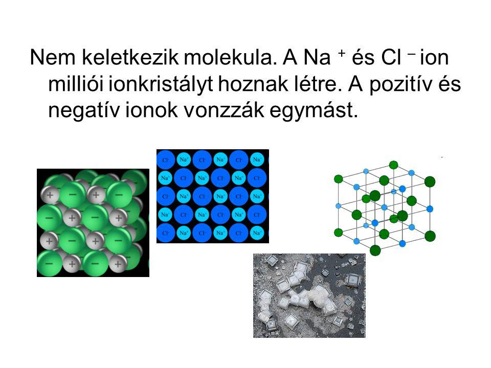 Nem keletkezik molekula