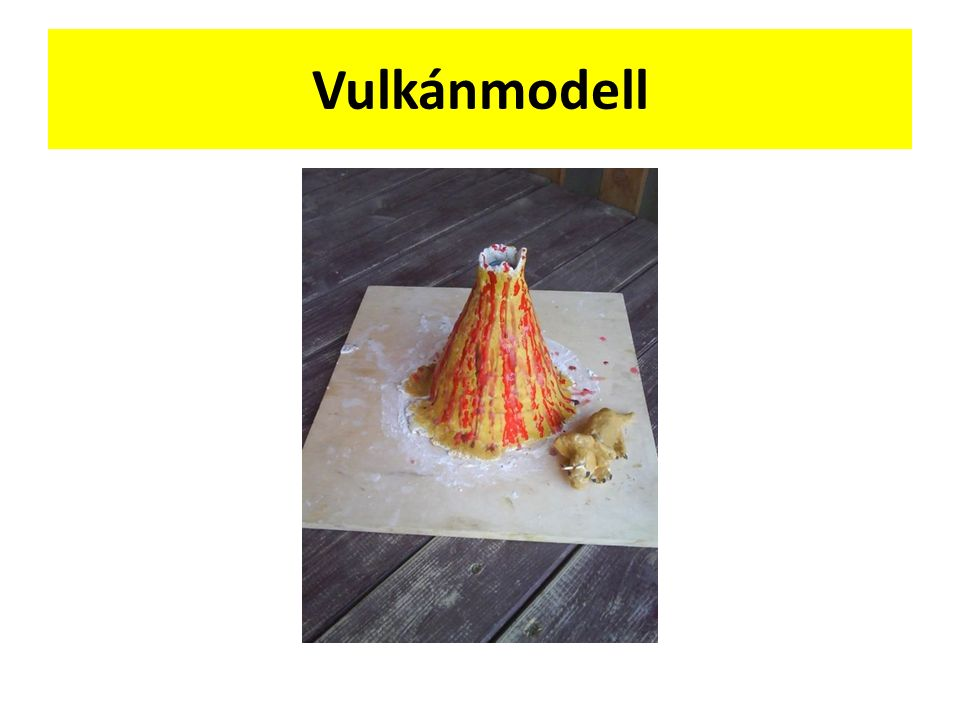Vulkánmodell