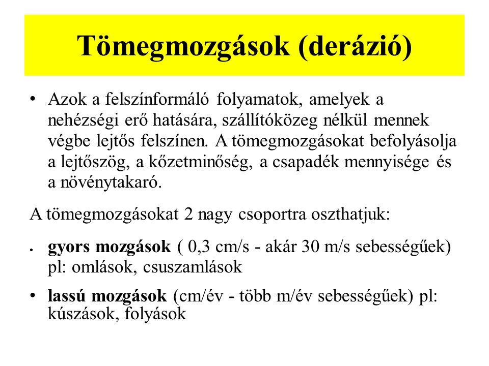 Tömegmozgások (derázió)