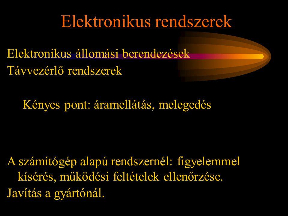 Elektronikus rendszerek