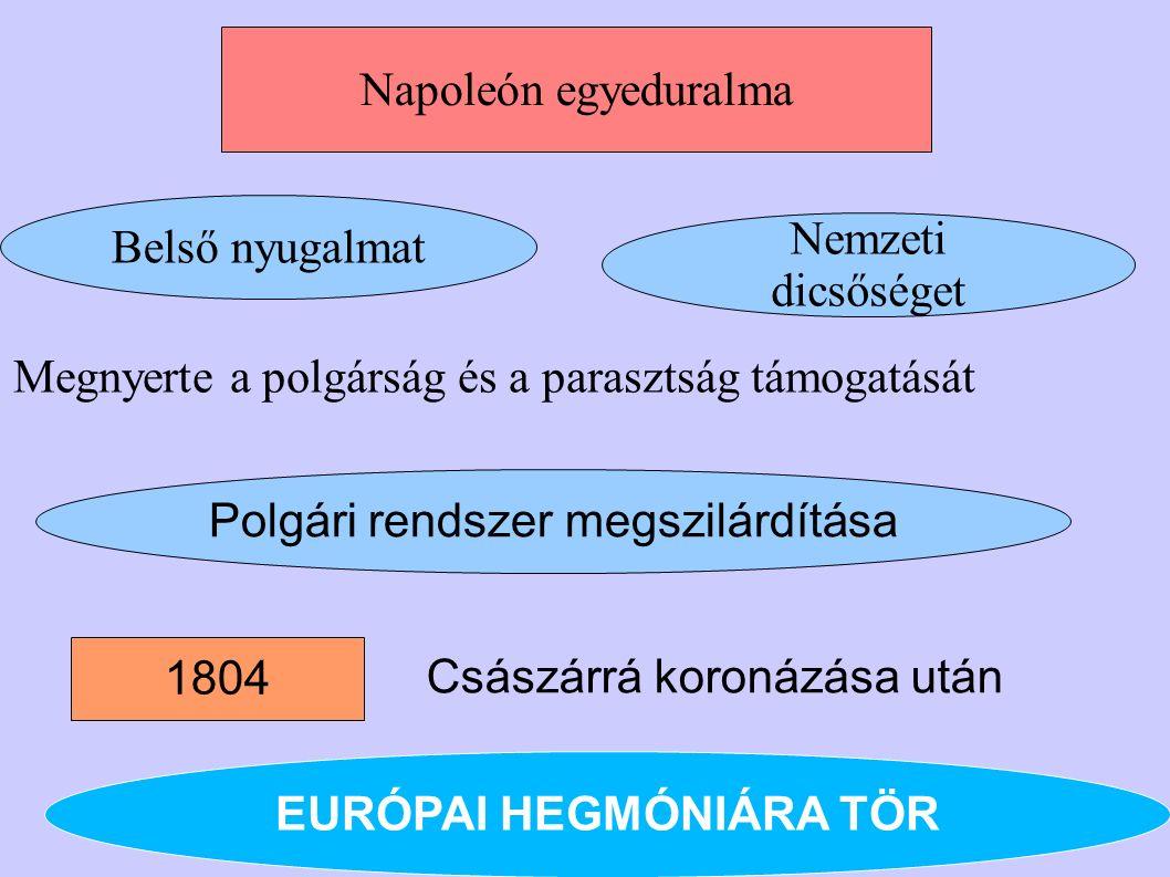 EURÓPAI HEGMÓNIÁRA TÖR