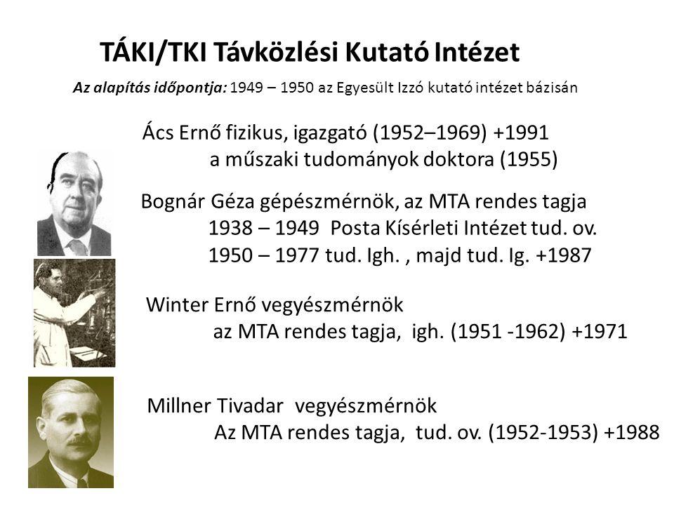 TÁKI/TKI Távközlési Kutató Intézet
