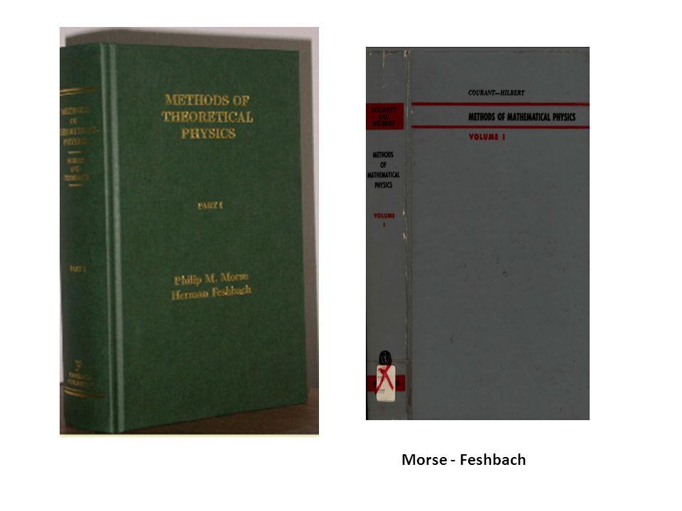Morse - Feshbach
