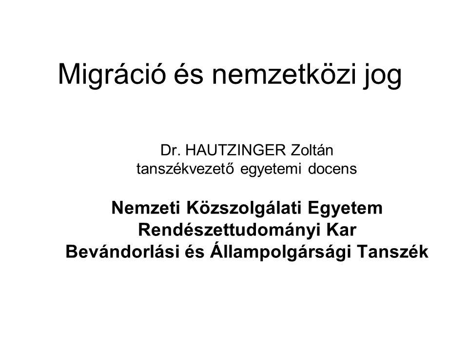 Migráció és nemzetközi jog