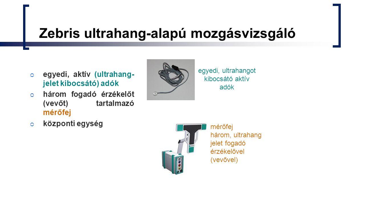Zebris ultrahang-alapú mozgásvizsgáló