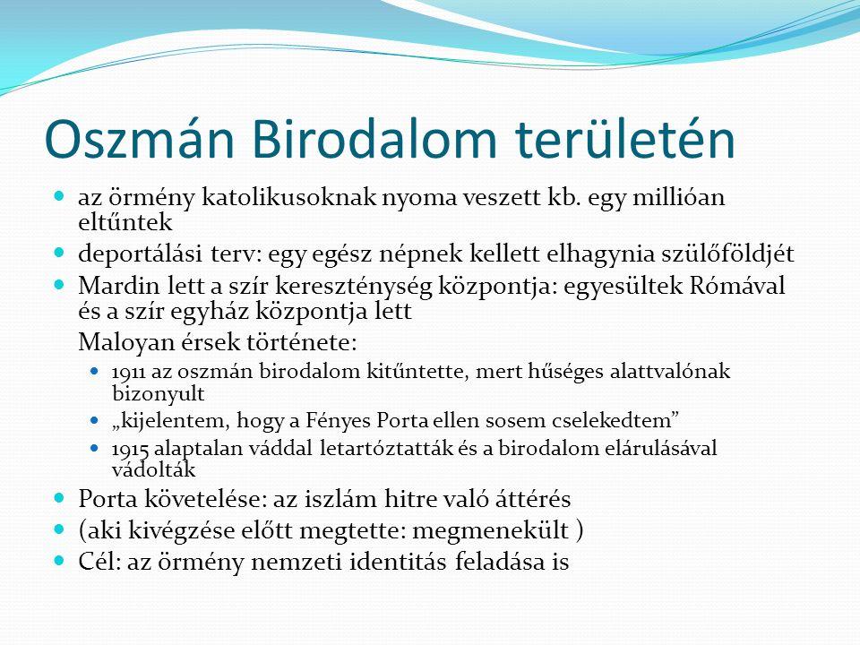 Oszmán Birodalom területén