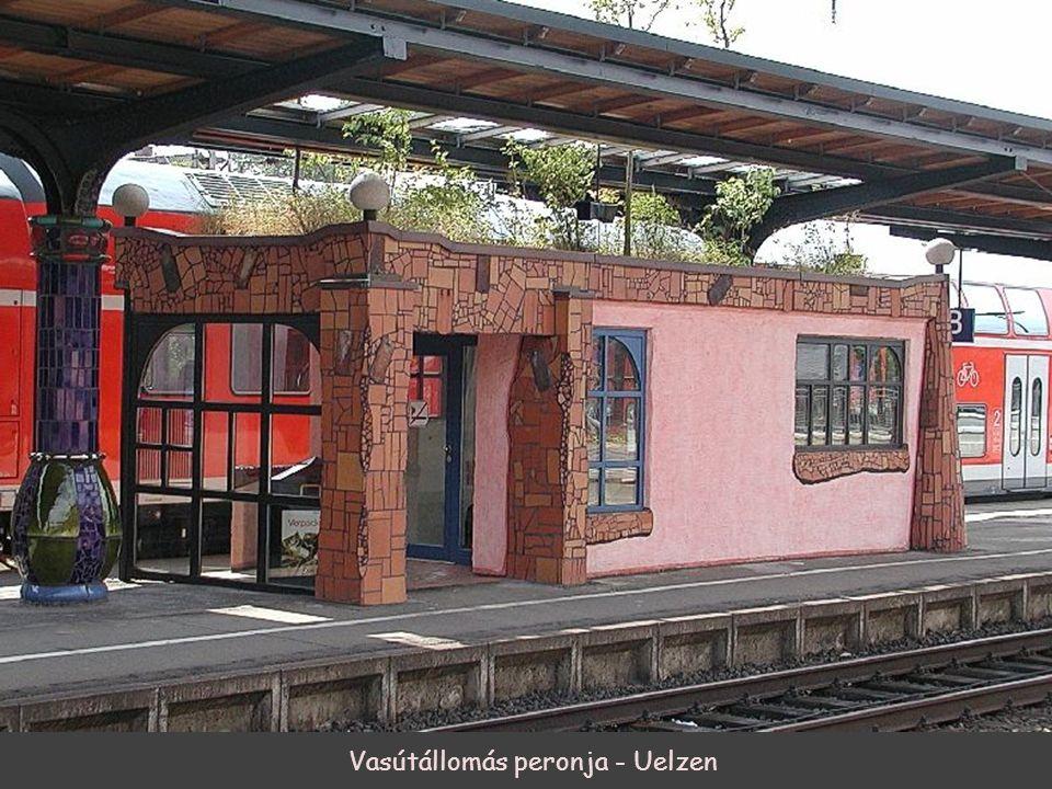 Vasútállomás peronja - Uelzen