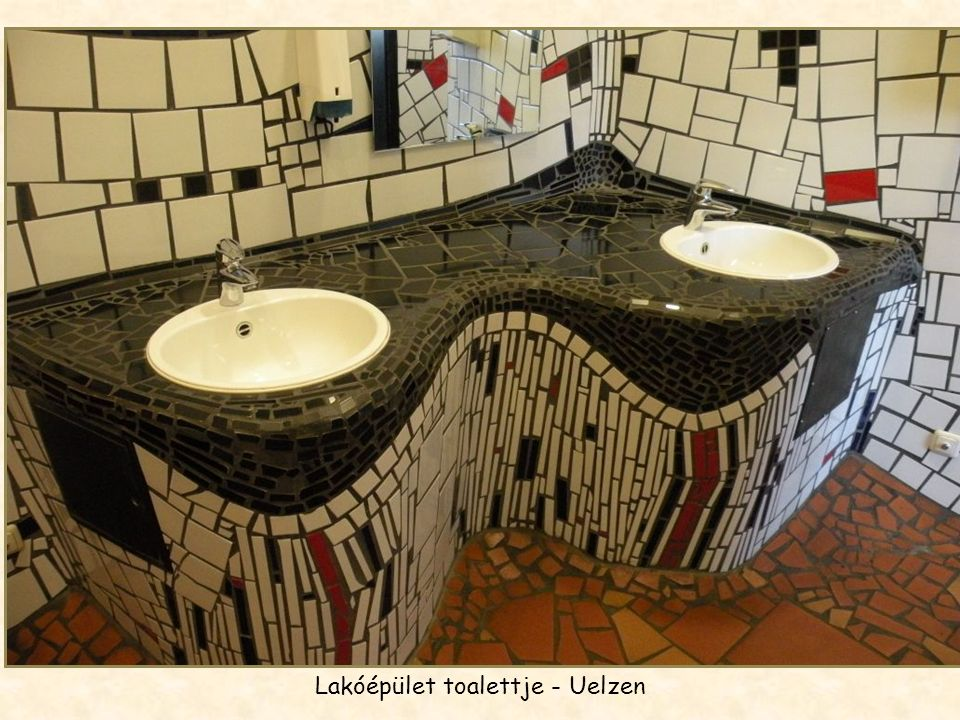 Lakóépület toalettje - Uelzen