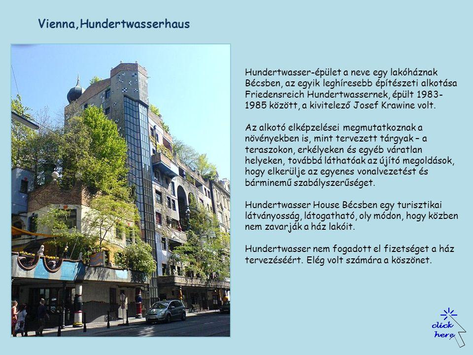 Vienna,Hundertwasserhaus