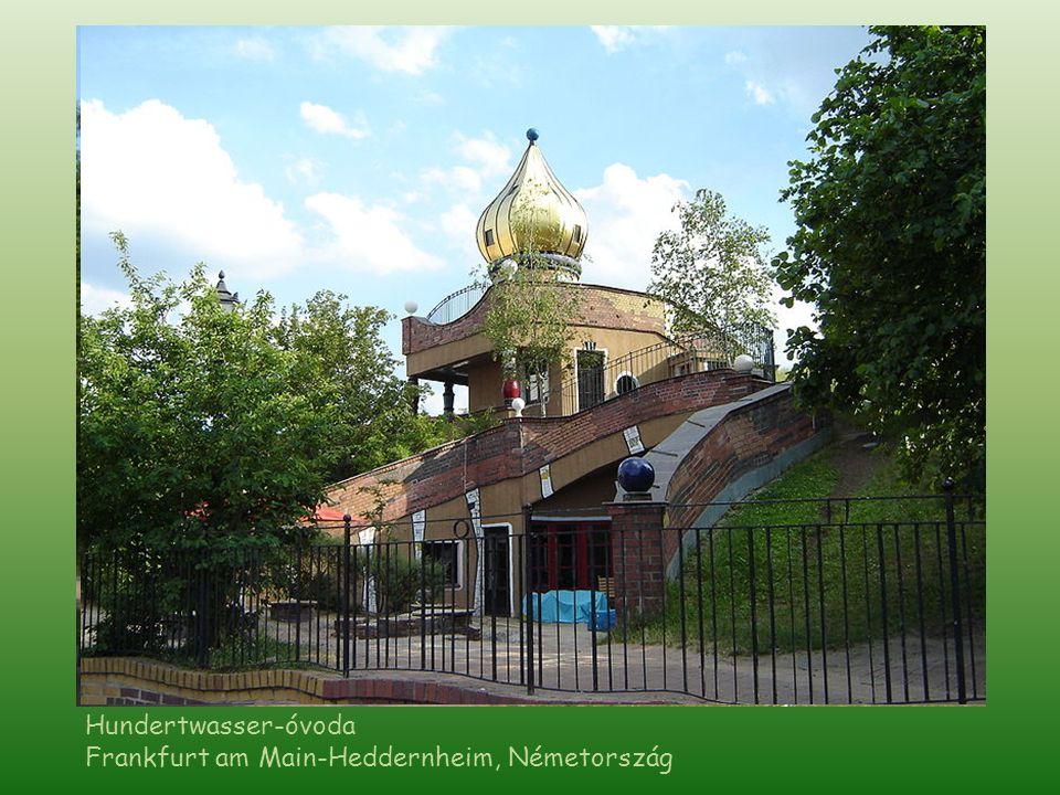 Hundertwasser-óvoda Frankfurt am Main-Heddernheim, Németország