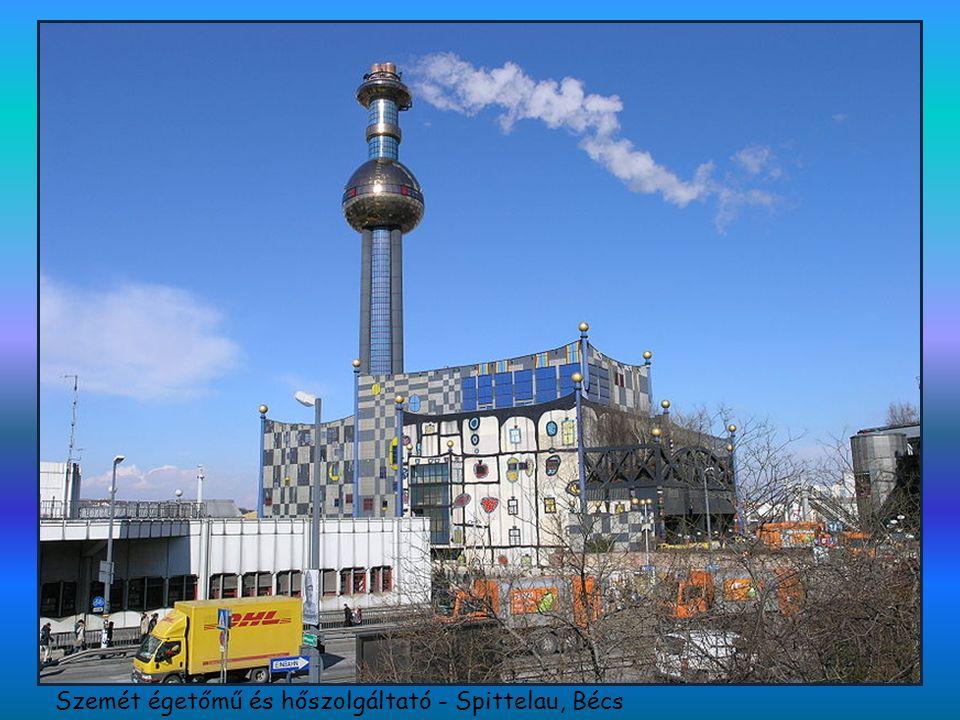 Szemét égetőmű és hőszolgáltató - Spittelau, Bécs