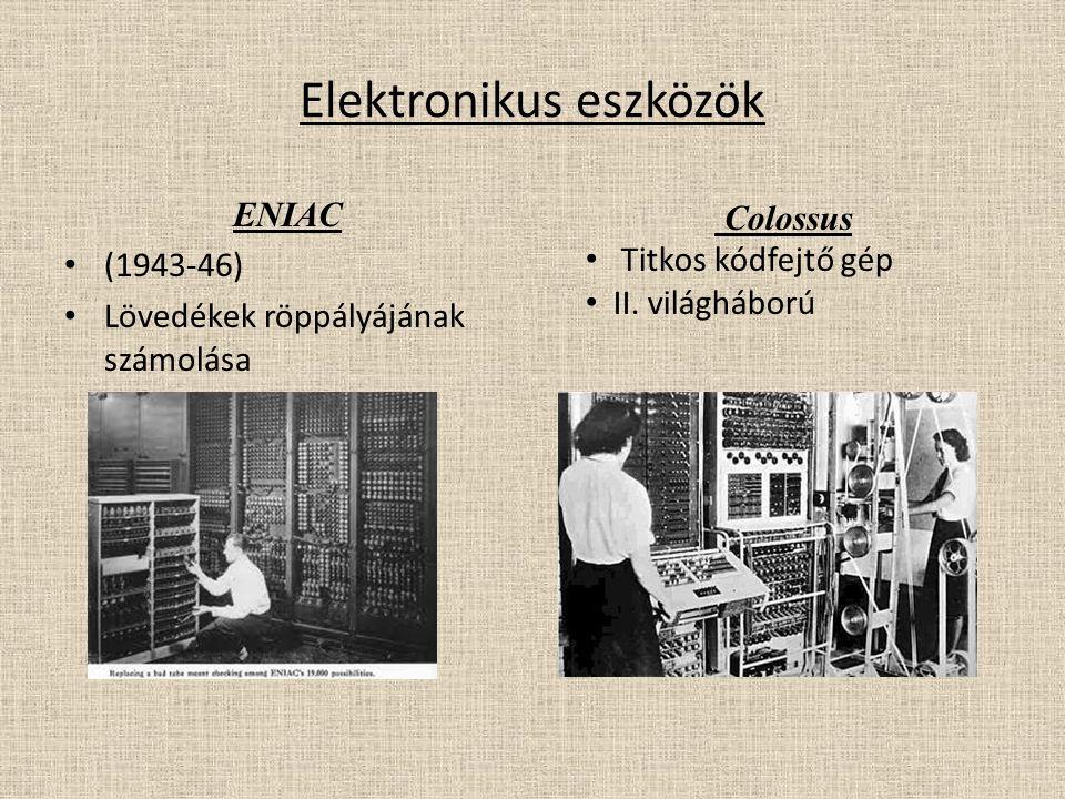 Elektronikus eszközök