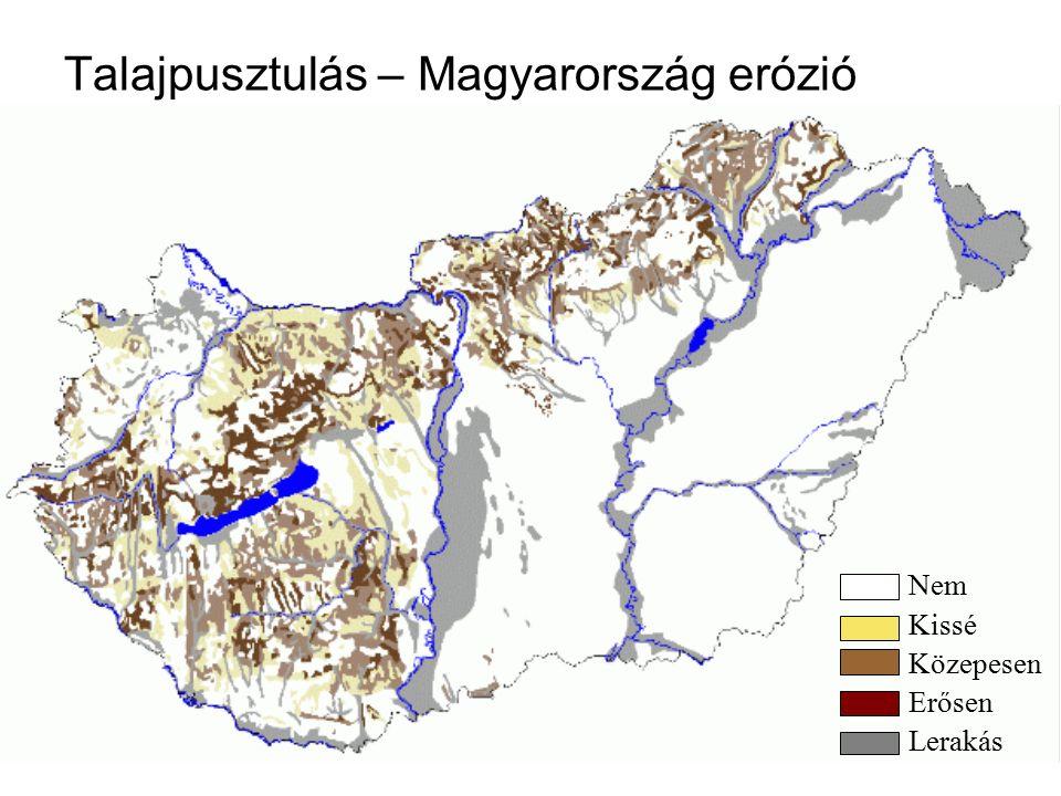 Talajpusztulás – Magyarország erózió